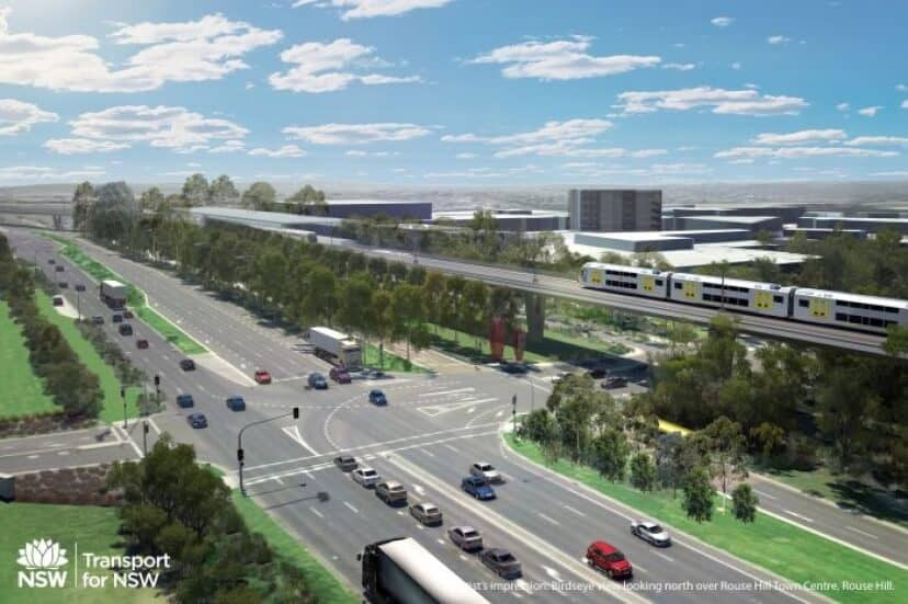 Northwest Rail Link Gets The Go Ahead in New South Wales
