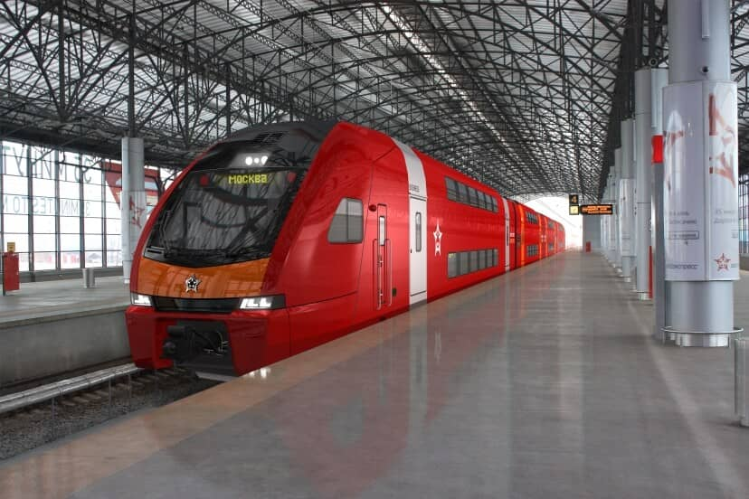 Stadler Wins Commuter Train Order in Moscow