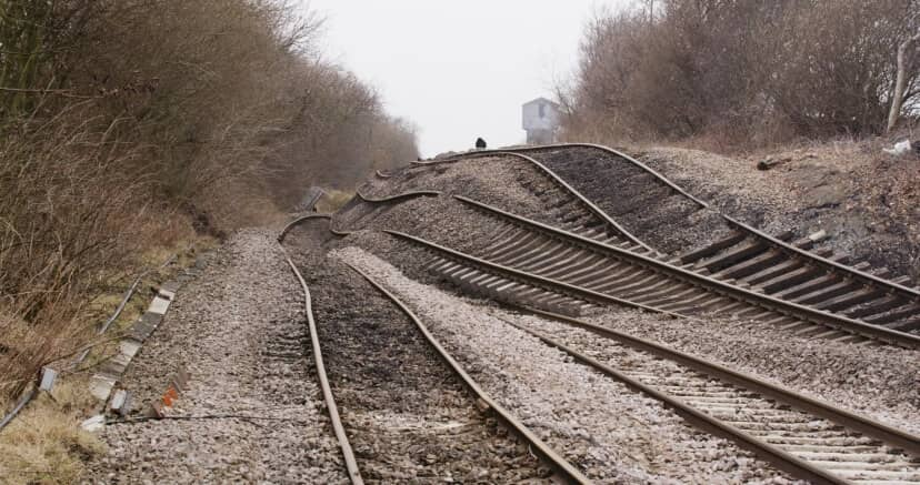 Rail Recovery Work at Hatfield & Stainforth