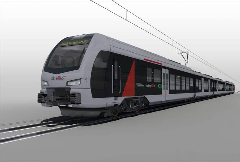 Abellio orders 20 FLIRT3 multiple-unit trains for the Lower Rhine Network from Stadler