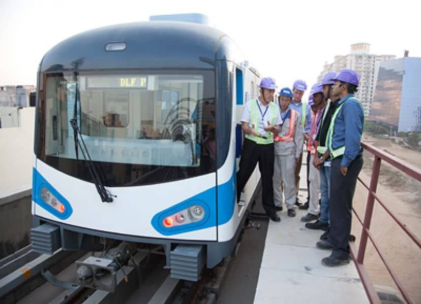 Siemens extends Gurgaon metro line in India as turnkey system