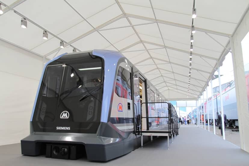 Siemens and Russian Machines Plan to Cooperate for Metro Moscow Tender,