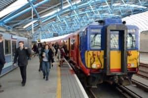 Britain's Rail Passengers Safer Than Ever