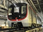 First South Island Line Train Arrives in Hong Kong