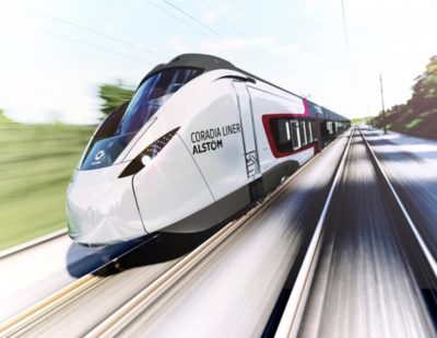 Alstom Unveils it's New Main-Line Train