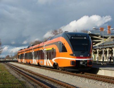 38 FLIRT Trains in Operation in Estonia
