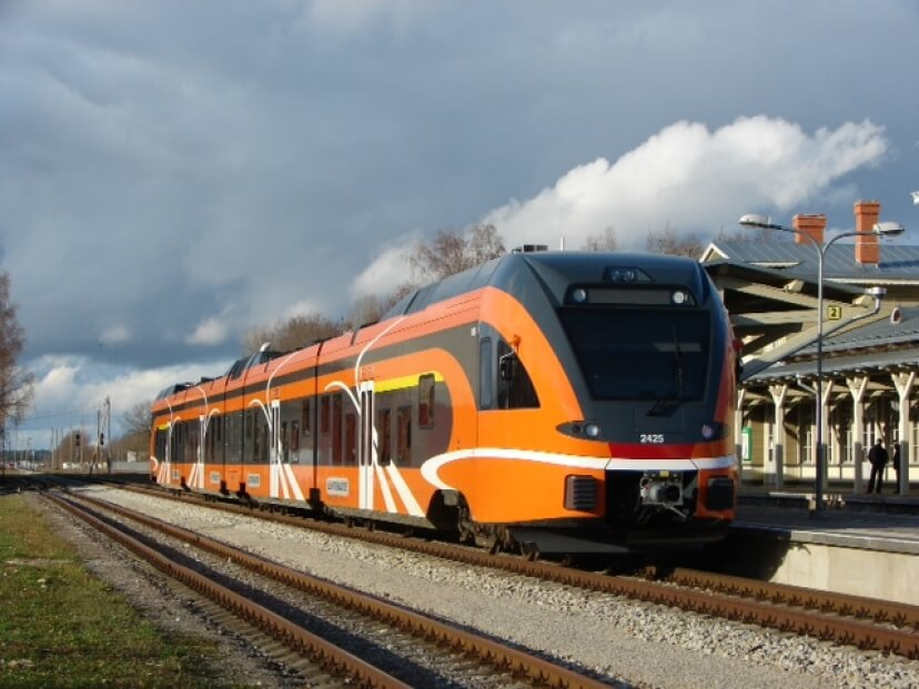 38 FLIRT Trains in Operation in Estonia
