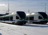 1'000th FLIRT train travels in Helsinki