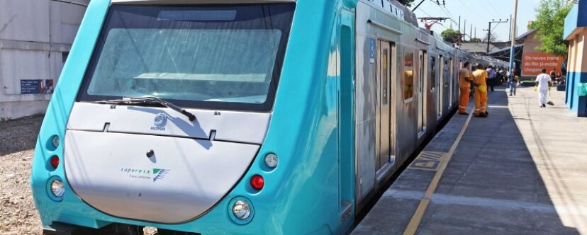 Alstom Completes Delivery of Metropolis Trains for Rio de Janeiro Region