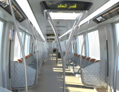Bombardier Presents INNOVIA Metro 300 Design for Riyadh Metro