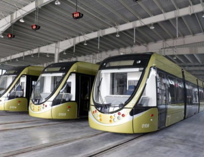 Bombardier Technology Enters Service in CSR Puzhens Low-Floor Trams for Suzhou