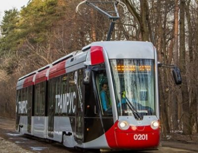 Alstom and Transmashholding to Supply 3 Additional Low-Floor Trams to St. Petersburg