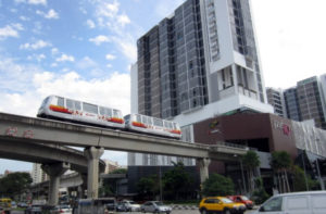 Bombardier Automated People Mover Vehicles Enter Service in Singapore