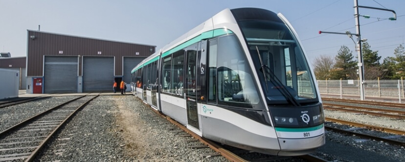 Alstom Citadis Tram Enters into Service on Line T8 in Ile-de-France Region