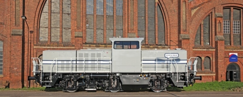 Alstom to Supply Two H3 Hybrid Shunting Locomotives for Audi
