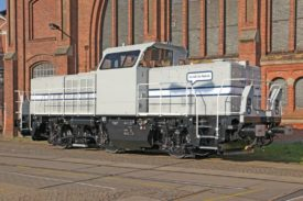 Alstom Delivers H3 Hybrid Locomotive to Volkswagen