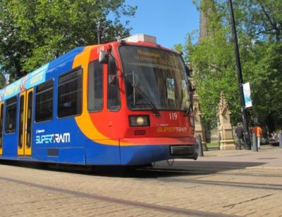 Light Rail and Tram Statistics up 5.6% from 2013/14