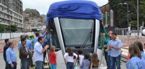 First Alstom Citadis Tram Delivered to Rio de Janeiro