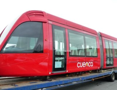 Alstom Delivers First Citadis Tram to Ecuador