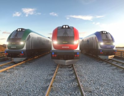 Siemens Provide Trains to California, Illinois and Maryland