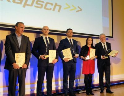 Kapsch CarrierCom Wins Innovation Award for ERTMS Solution