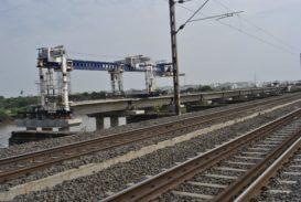 Launching of Bridge