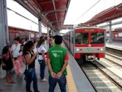 Lima Metro Villa El Salvador Station