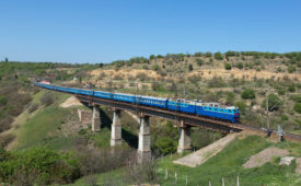 Ukraine to Kazakhstan Rail Route