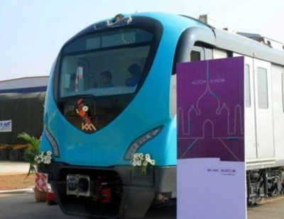 India: Kochi Metro Car Unveiled