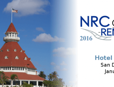 6-9 January: NRC Conference and REMSA Exhibition