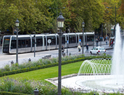France: Alstom Citadis X05 Tram Unveilled with SRS Technology