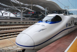 Made in China  Mass Produced High Speed Rail