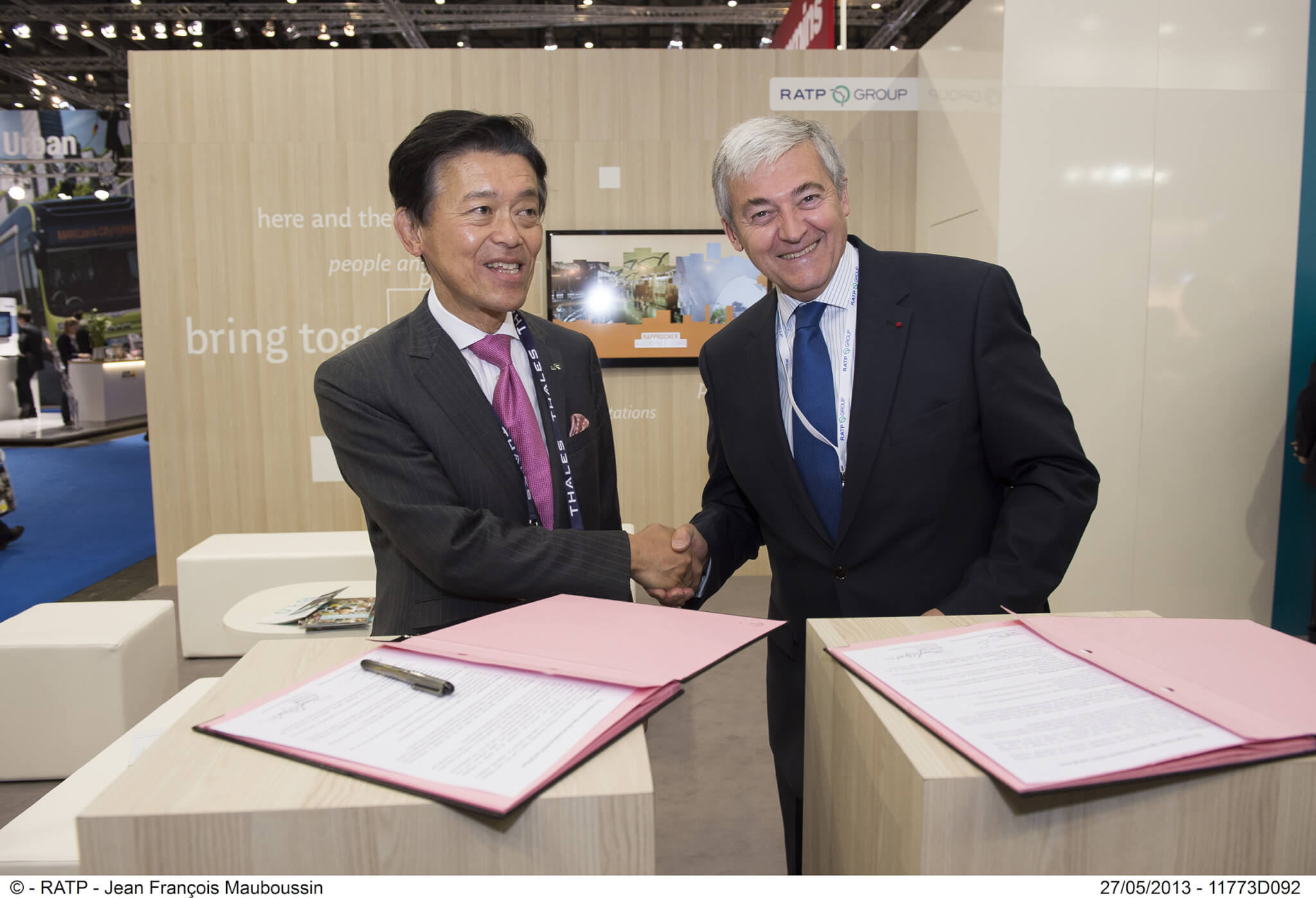 RATP Group and JR East Sign Cooperation Agreement to Share Rail Expertise