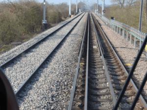 Thales RIDC testing track