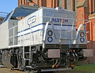 Germany: Alstom Supplies Metrans Rail GmbH 2 Prima H3 Hybrid Shunting Locomotives