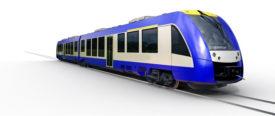 Alstom Coradia Lint Train