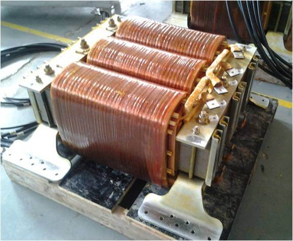 3.phase ACM transformer with integrated inductor