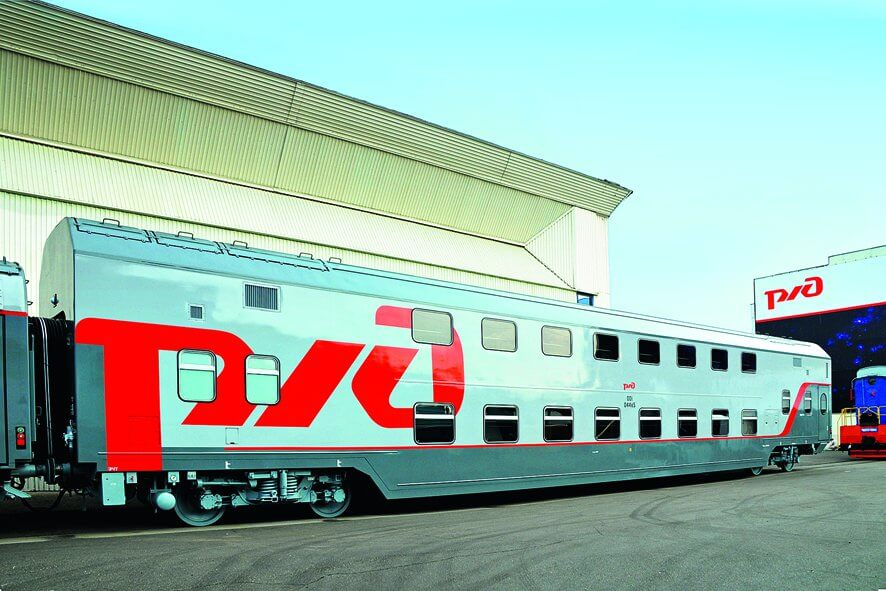 DMZ has Built 10 cars of ED9E EMU for Kazakhstan Railway