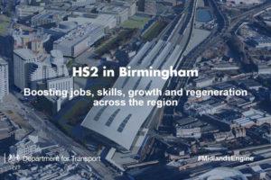 UK: HS2 Headquarters Open in Birmingham