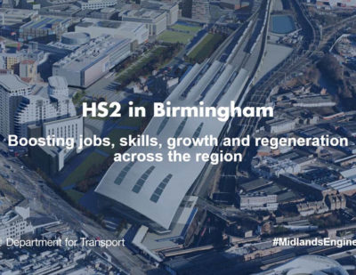 UK: HS2 Headquarters Open in Birmingham