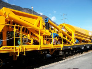 Railway Concreting Train