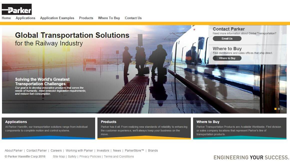 UK: Parker Hannifin Launches Microsite