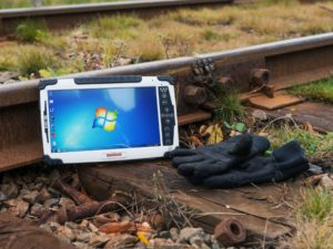 ALGIZ-10X Rugged Tablet Computer for Railway Maintenance