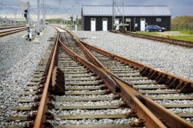 Alstom Smartlock on tracks in Victoria.