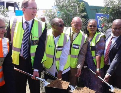 South Africa: Alstom Break Ground on Train Manufacturing Facility