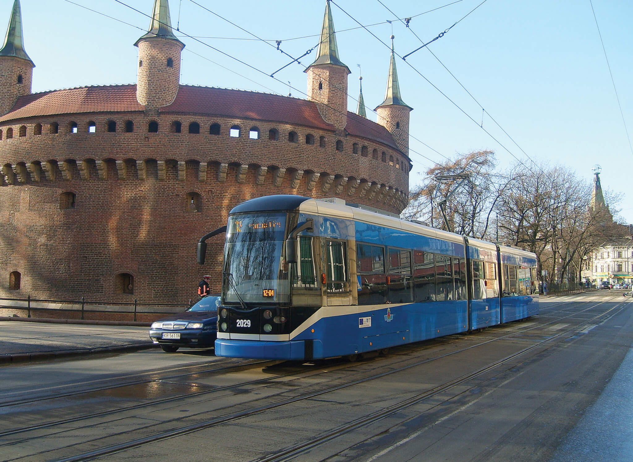 Bombardier Deliver Flexity Classic LRV to Krakow