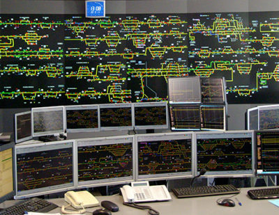 CAF Integrated Control Centres