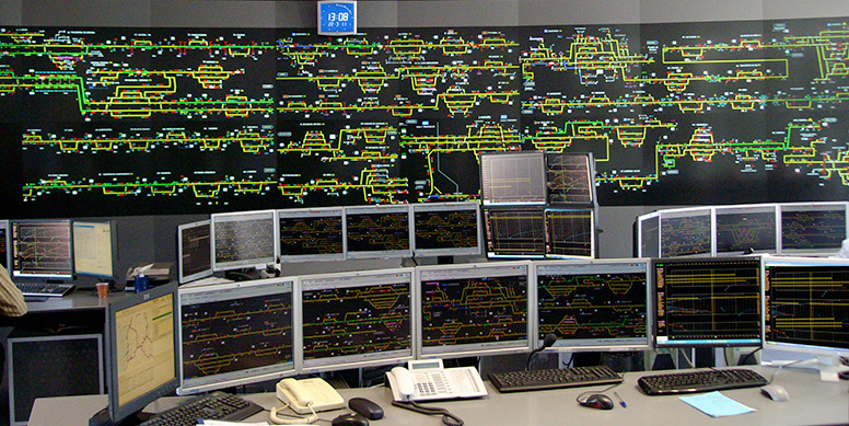 Integrated Control Centres © CAF