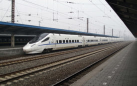 High Speed Chinese train.