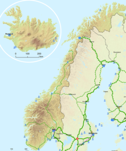 Europe: TEN-T Network Maps Redrafted for Iceland, Norway and Western Balkans